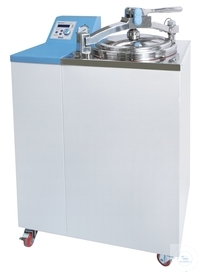 Steam sterilizer / Autoclave 80L up to 132°C Ideal for Biotechnology, Clinical,...