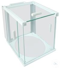 Glass draft shield, 175 x 195 x 230 mm, for Lab balance type WBA-3200 and...