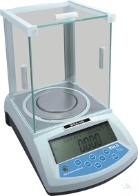 High-precision Lab balance, type WBA-320, weighing range: 0,001 - 320 g,...