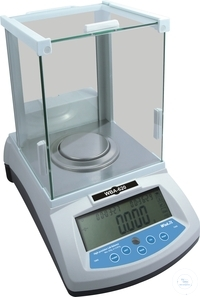 High-precision Lab balance, type WBA-620, weighing range: 0,001 - 620 g,...