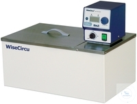 Circulation Water Bath 11L up to 100°C 5L/min with Flat lid Ideal for Biotechnology, Clinical,...