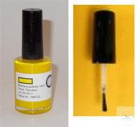 Gewebemarkierungsfarbe, gelb, Weinkauf, normaler Pinsel Pinselbreite ca. 3 mm...