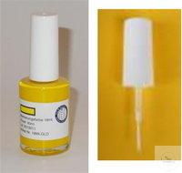 Gewebemarkierungsfarbe gelb, Weinkauf, schmaler Pinsel Pinselbreite ca. 1.5...
