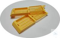 Einbettcassetten QPath Macrostar V gestapelt weiss Einbettcassetten QPath...
