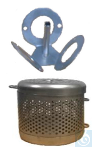 Affinisep CANISTER AND HOLDER FOR 3 POCIS  CANISTER AND HOLDER FOR 3 POCIS 1...