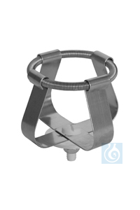 EK 25, spring clamp EK 25, spring clamp, for laboratory flasks up to dia 42...