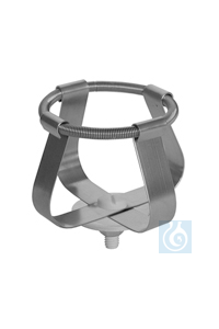 EK 50, spring clamp EK 50, spring clamp, for laboratory flasks up to dia. 52...