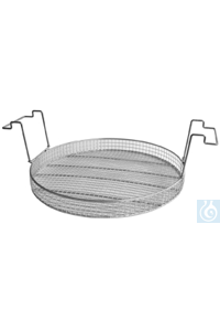 K 40, insert basket K 40, insert basket, s/s, dia. 480 mm, 50 mm high, mesh size: 12,5x12,5 mm,...