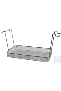 K 28 C, insert basket K 28 C, insert basket, s/s, ID 455x245x50 mm, mesh size...