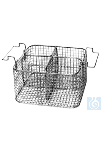 K 14 AZ, insert basket K 14 AZ, insert basket, for 2 respirators, separation bar removable, s/s,...
