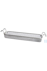 K 6 L, insert basket K 6 L, insert basket, s/s, ID 460x100x50 mm, mesh size 5x5 mm, for RK 156,...