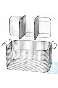 K 28 CA, insert basket K 28 CA, insert basket, for 6 respirators, separation...