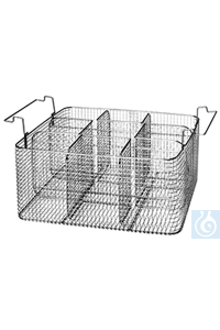 K 50 CA, insert basket K 50 CA, insert basket, for 9 respirators, separation bar removable, s/s,...