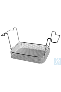 K 10 B, insert basket K 10 B, insert basket, s/s, ID 250x195x50 mm, mesh size 5x5 mm, for RK 512...