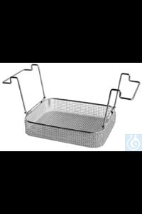 K 10 B, insert basket K 10 B, insert basket, s/s, ID 250x195x50 mm, mesh size...