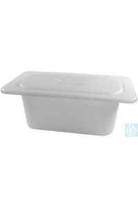 KW 5, insert tub with lid KW 5, insert tub with lid, plastic, ID 254x96x130...