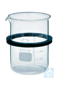 SD 06, inset beaker SD 06, inset beaker, 600 ml, glass, with ring and lid, dia. 84 mm, 125 mm...