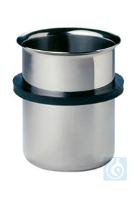 EB 05, inset beaker EB 05, inset beaker, 600 ml, s/s, with ring and lid, dia. 87 mm, 120 mm high,...