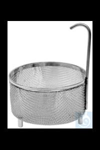 KD 0, inset sieve basket KD 0, inset sieve basket, s/s, dia. 75 mm, mesh size...