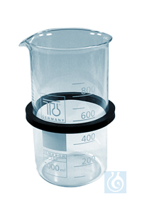 SD 09, inset beaker SD 09, inset beaker, 1000 ml, glass, with ring, dia. 91...