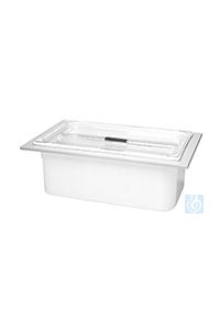 KW 14, insert tub with lid KW 14, insert tub with lid, plastic, ID...