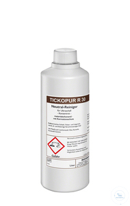 TICKOPUR R 30 - 1 litre TICKOPUR R 30 - 1 litre, neutral cleaner, concentrate,  with corrosion...