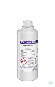 TICKOPUR RW 77 - 1 litre TICKOPUR RW 77 - 1 litre, special cleaner, with ammonia, concentrate,...