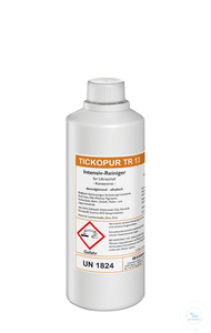 TICKOPUR TR 13 - 1 litre TICKOPUR TR 13 - 1 litre, intensive cleaner, demulsifying, concentrate,...