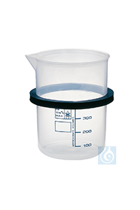 KB 04, inset beaker KB 04, inset beaker, 400 ml, plastic, with ring, dia. 76...
