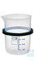 KB 04, inset beaker KB 04, inset beaker, 400 ml, plastic, with ring, dia. 76...