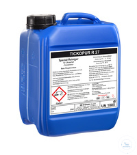 TICKOPUR R 27 - 5 litres TICKOPUR R 27 - 5 litres, special cleaner, based on phosphoric acid, for...