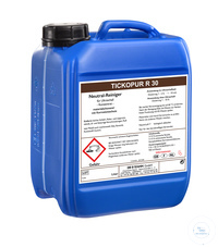 TICKOPUR R 30 - 5 litres TICKOPUR R 30 - 5 litres, neutral cleaner, concentrate,  with corrosion...