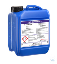 TICKOPUR RW 77 - 5 litres TICKOPUR RW 77 - 5 litres, special cleaner, with ammonia, concentrate,...