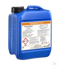 TICKOPUR TR 13 - 5 litres TICKOPUR TR 13 - 5 litres, nettoyant intensif, non émulsionnant,...