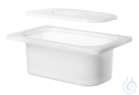 KW 3, insert tub with lid KW 3, insert tub with lid, plastic, ID 195x115x88...