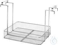 MK 110, insert basket MK 110, insert basket, s/s, ID 530x410x90 mm, load up to 20 kg, mesh size...