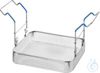 MK 16 B, insert basket MK 16 B, insert basket, s/s, ID 275x245x50 mm, load up to 10 kg, mesh size...