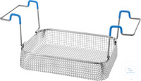 K 10, insert basket K 10, insert basket, s/s, ID 250x195x50 mm, mesh size 5x5...