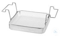 K 14, insert basket K 14, insert basket, s/s, ID 275x245x50 mm, mesh size 5x5...