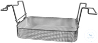 K 5 C, insert basket K 5 C, insert basket, s/s, ID 260x110x40 mm, mesh size 5x5 mm, for RK 255/H,...