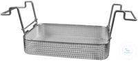 K 5 C, insert basket K 5 C, insert basket, s/s, ID 260x110x40 mm, mesh size...