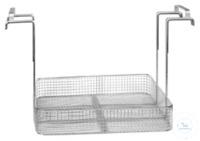 MK 210, insert basket MK 210, insert basket, s/s, ID 680x610x90 mm, load up...