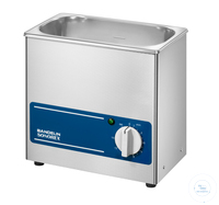 SONOREX SUPER RK 100   SONOREX SUPER RK 100, ultrasonic bath, 35 kHz, 230 V~ (± 10%) 50/60 Hz, ID...