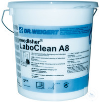 neodisher LaboClean A 8 - 10,00 KG Alkaline universal detergent – powder – Free of surfactants...
