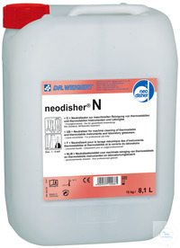 neodisher N - 12,00 KG Acidic neutralising agent and detergent – liquid...