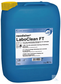 neodisher LaboClean FT - 12,00 KG Alkaline detergent – liquid concentrate...