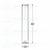 Flachbodenglas 40 x Ø10mm; Probenröhrchen; Vail; Klarglas; glatter Rand...