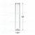 Flachbodenglas 50 x Ø10mm; Probenröhrchen; Vail; Klarglas; glatter Rand...