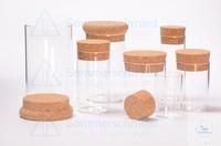 7 Artikel ähnlich wie: Flachbodenglas 60 x Ø40mm; Becherglas; Vail; Klarglas; glatter Rand...