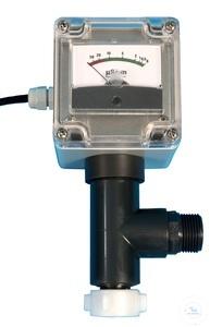 Leitfähigkeitsmessgerät analog Leitfähigkeitsmessgerät analog  mit T-Stück R 3/4''  Anzeige...